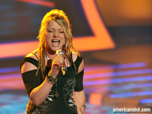 "American Idol wallpaper entitled Crystal Bowersox singing ""Maybe I'm Amazed"""
