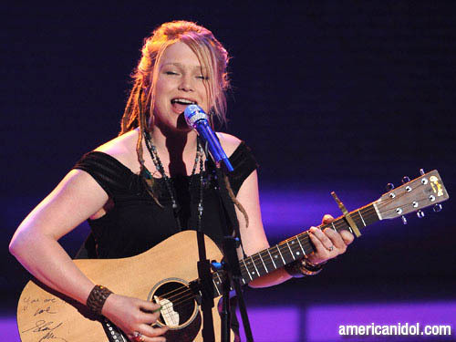 "Crystal Bowersox imba ""You Can't Always Get What wewe Want"""