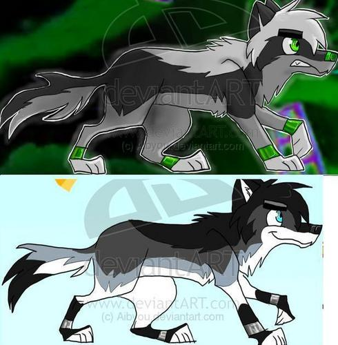 Danny Fenton/Phantom lobo version