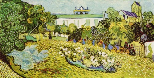 Vincent van Gogh wallpaper entitled Daubigny's Garden