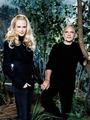 Director Anthony Minghella and Nicole Kidman - cold-mountain photo