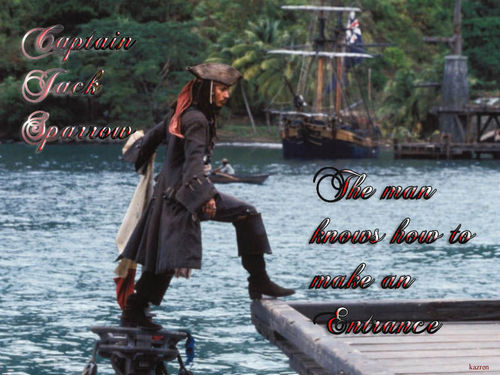 Pirates of the Caribbean wallpaper entitled Entrance