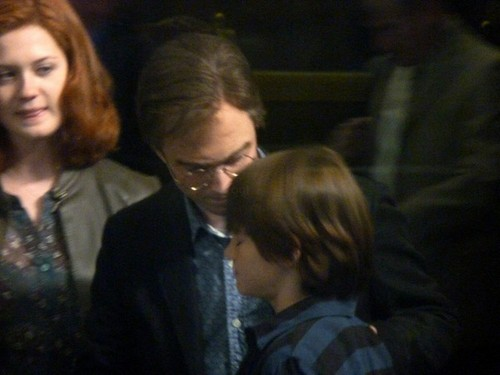 First picha of adult Harry, Ginny & Potter family from Deathly Hallows epilogue