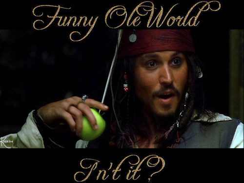 Pirates of the Caribbean wallpaper entitled Funny