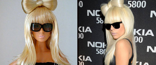 Gaga like a barbie