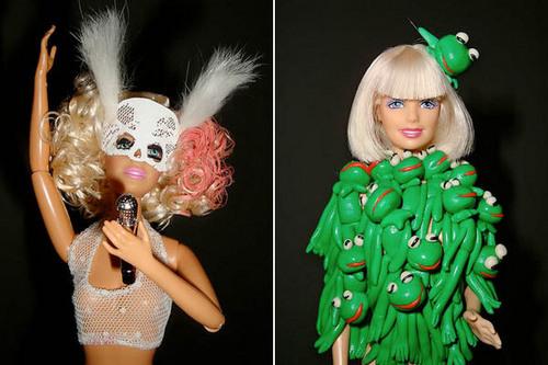 Gaga like a barbie