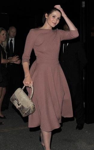 Gemma Arterton out at the Louis Vuitton party (May 25)