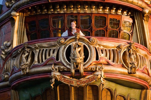 Georgie on the Dawn Treader