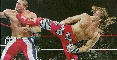 Shawn Michaels wallpaper titled HBK Sweet Chin Music