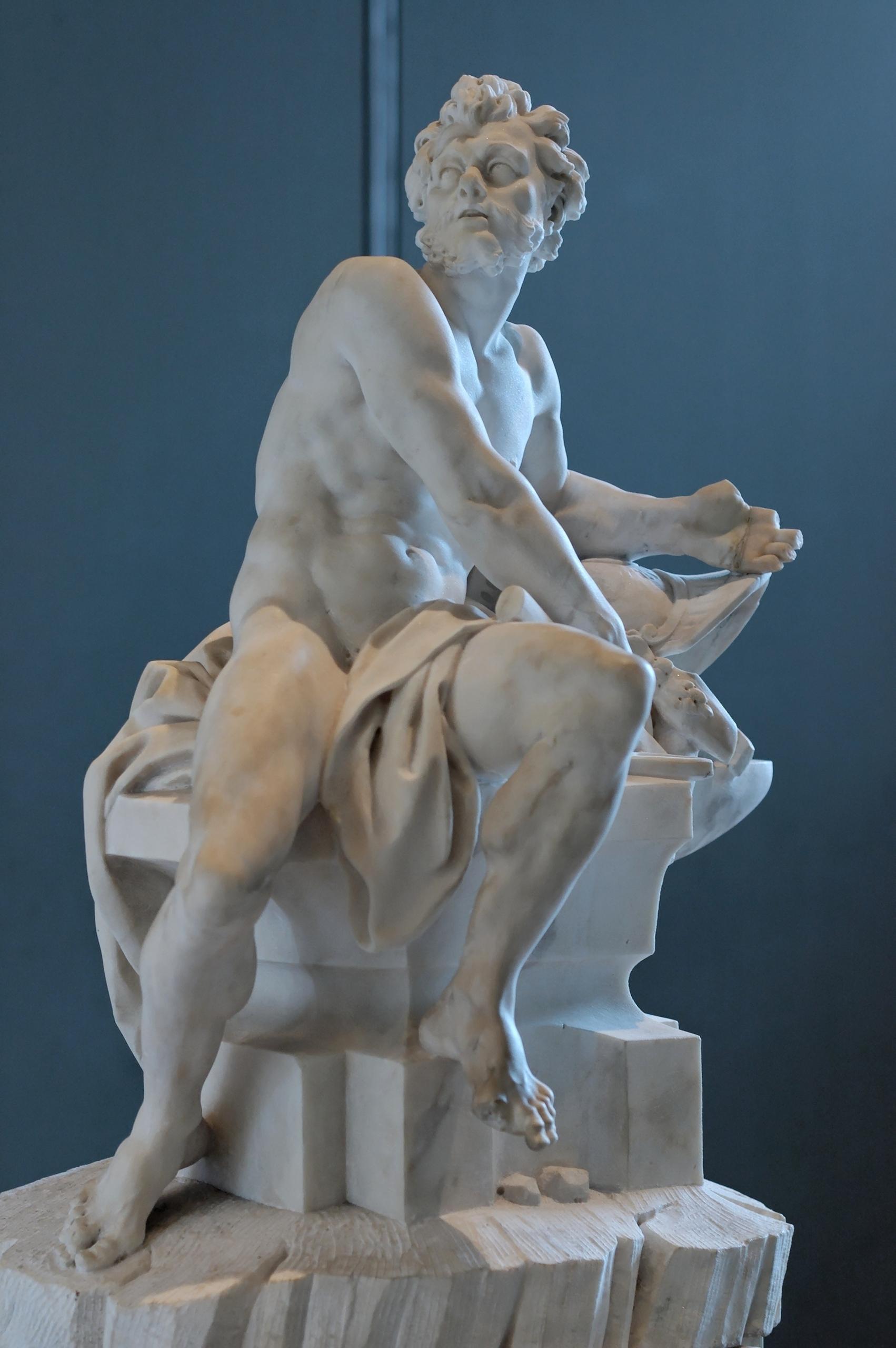 Hephaestus statue