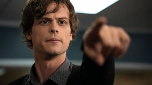 Dr. Spencer Reid Hintergrund entitled Her, shes the one!