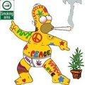 Homer hippy