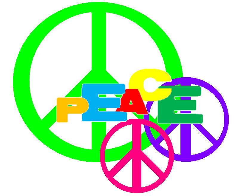 I love peace - Peace Signs 808x657