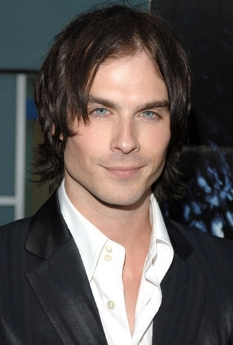 Ian Somerhalder with long hair would have fit the part of Dimitri <3