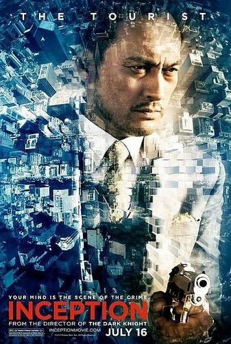 Filem kertas dinding called Inception Character Promo Posters