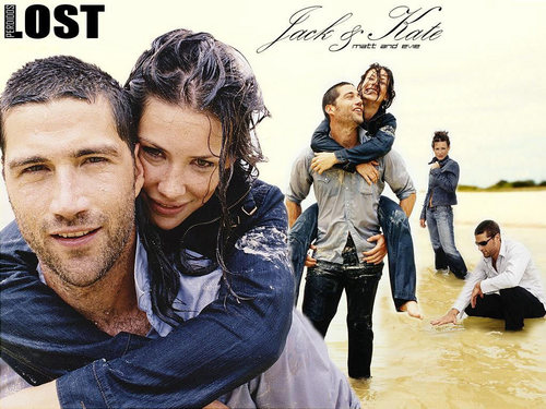 Jack/Matt and Kate/Evie