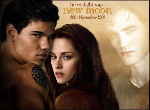 Jacob and Bella New Moon