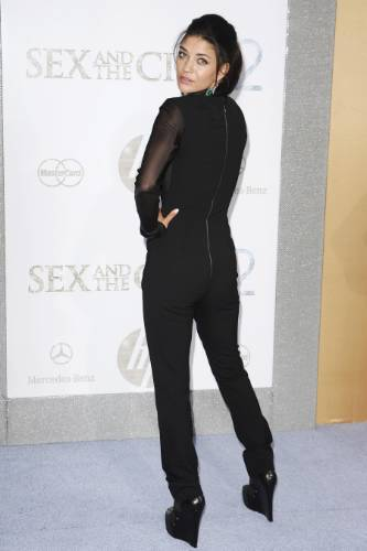 Jessica@the NYC premiere of Sex and the City 2