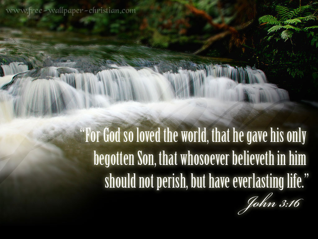 John 3:16 - Christianity Photo (12464022) - Fanpop