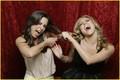 Josie Loren & Cassie Scerbo: Hair Pulling Pair