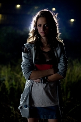Kaya Scodelario as Katniss :)