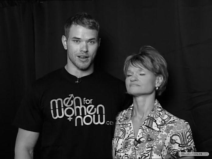 Kellan & his mom for Noreen Fraser Foundation