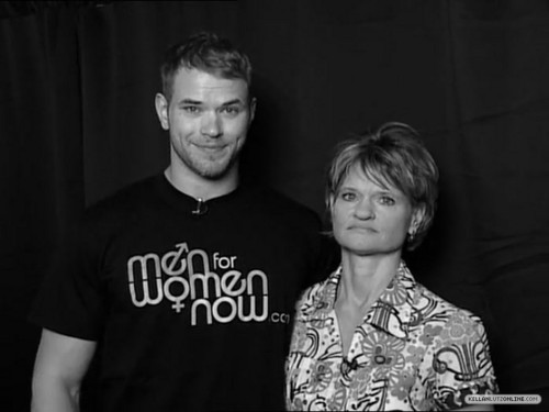 Kellan & his mom for Noreen Fraser Foundation