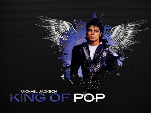The Best of Michael Jackson wallpaper titled King Of Pop