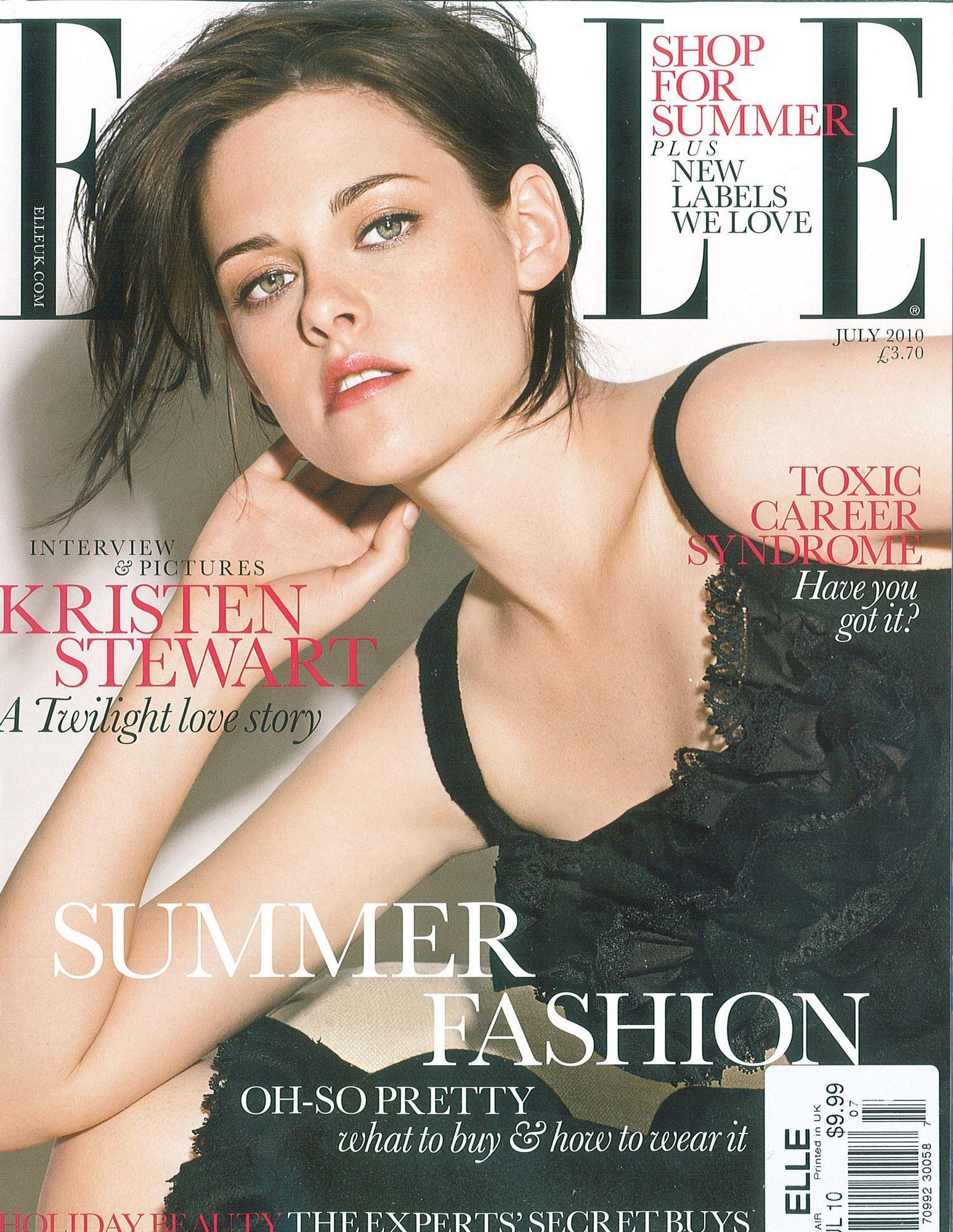 Kristen July 2010: Elle UK