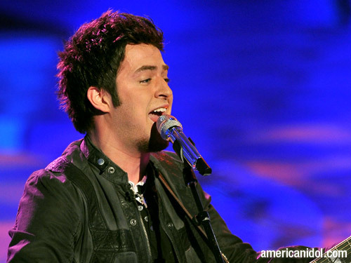 "Lee DeWyze Singing ""Little Less Conversation"""