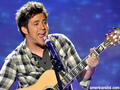 "Lee DeWyze singing ""Kiss From A Rose"" - american-idol photo"