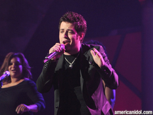 """Lee DeWyze cantar """"The Letter"""""""