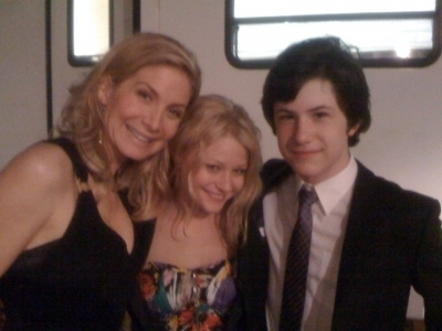 Liz, Emilie and Dylan