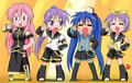 Lucky Star Vocaloid Cosplay - anime fan art