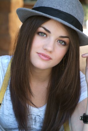 Lucy Hale as Katniss