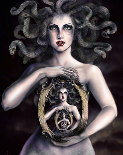 the olympians images medusa hd wallpaper and background