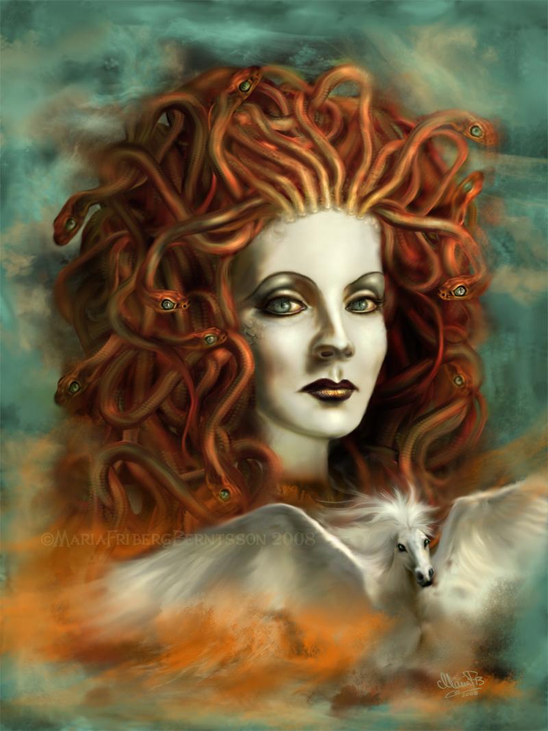 Medusa - The Olympians Fan Art (12475542) - Fanpop - Page 7
