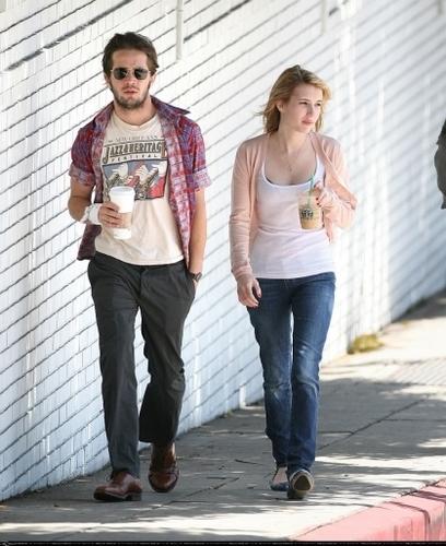 "Michael Angarano and Emma Roberts in ""Homework"""