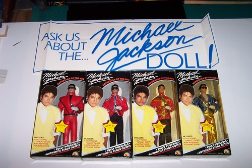 Michael like a doll