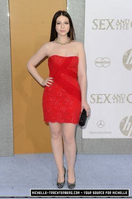 Michelle@the NYC premiere of Sex and the City 2