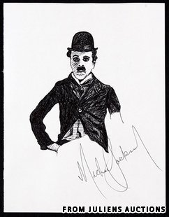Mike's Drawings! - michael-jackson photo