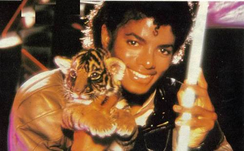 Mike with Tiger!