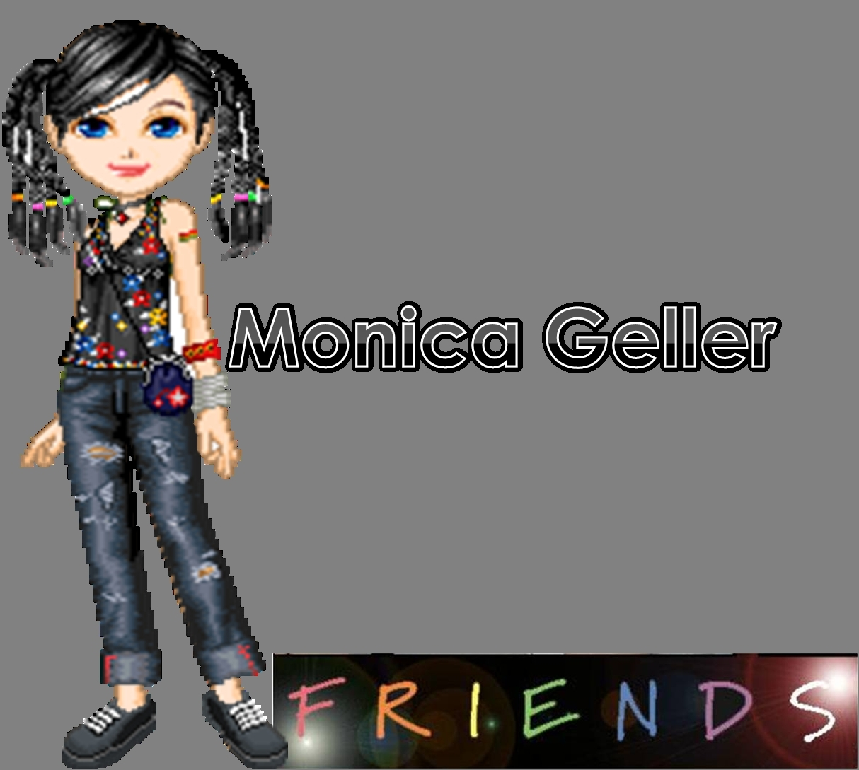 Monica Geller Anmated