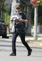 NEW Pictures of Rob yesterday afternoon in LA  - twilight-series photo