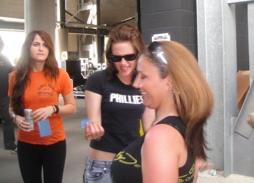 New Pic of Kristen at Rock on the Range show, concerto