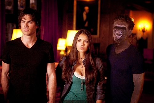 OMG! Stefan is a gorilla!!