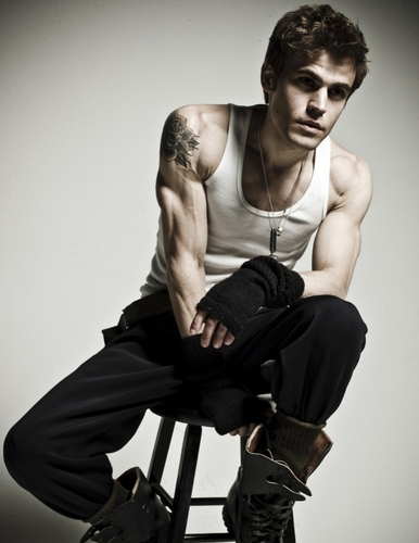 Paul Wesley photo Shoot