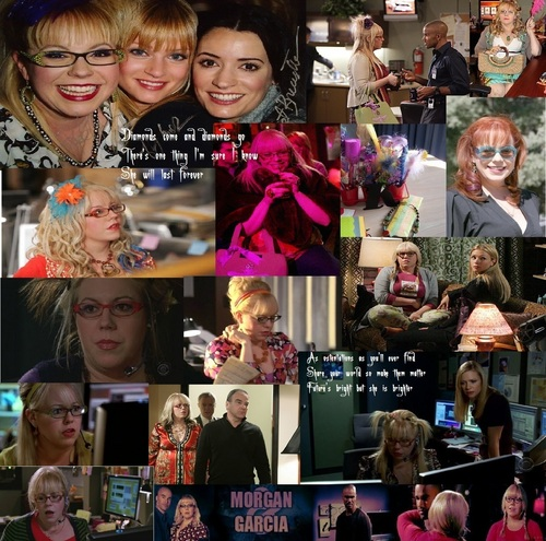 Criminal Minds achtergrond called Penelope Garcia- Brighter