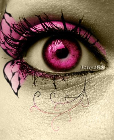 Schmetterlinge Hintergrund titled rosa schmetterling