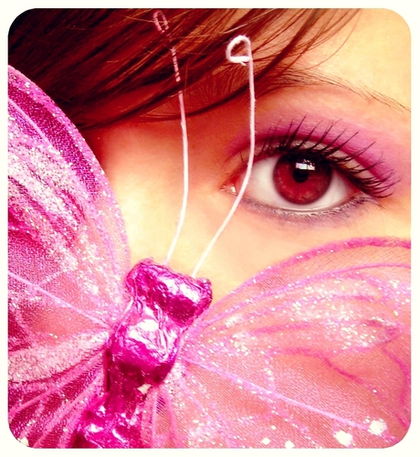 गुलाबी तितली